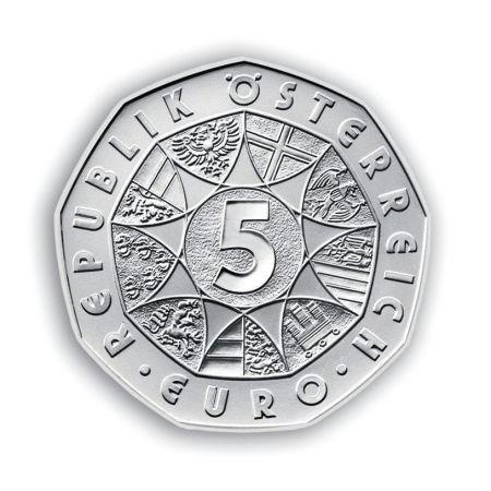 200111 Münze österreich Sagt Produktion Von 5 Eu